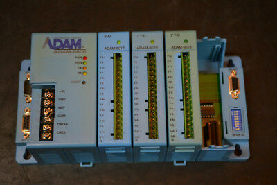 Advantech Adam-5000 Data Acquisition Mainframe with 3 Modules