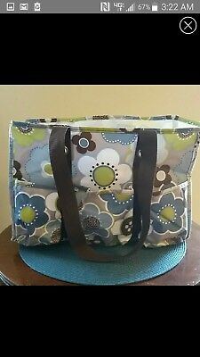 Thirty-One Organizing Utility Tote Bag Purse