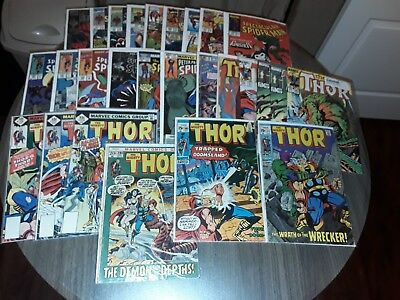 Mighty THOR #171 Spider-Man Captain America & Marvel Daredevil Fantastic 4 Ghost
