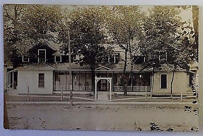 Early 1900's Home Vintage Real Photo Divided Back Postcard RPPC 1410