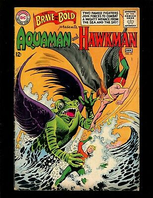 Brave and the Bold #51 VGFN Purcell Aquaman Hawkman 1st Old Man of the Oceans