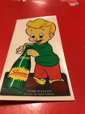 Little Squirt Decal 1953 Vintage