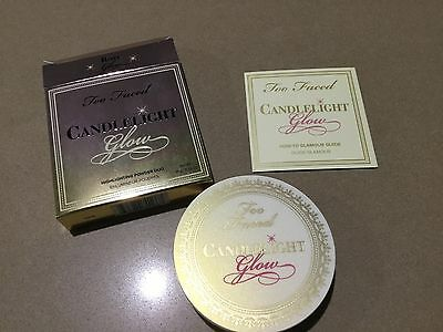 Too Faced Candlelight Glow Highlighting Powder Duo, Rosy Glow - NEW and Boxed!