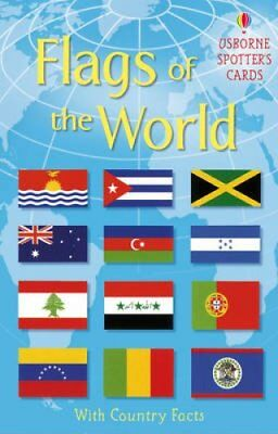 Flags of the World Usborne Spotter's Cards by Phillip Clarke 9781409520368