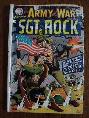 Our Army at War #185 (Oct 1967, DC)