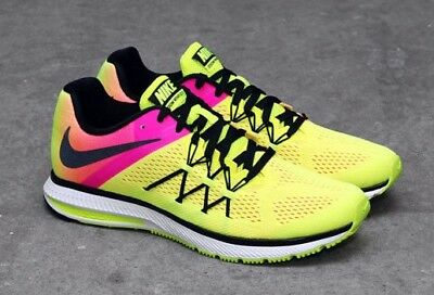 the best attitude 73409 e1f6b NEW NIKE ZOOM Winflo 3 OC Mens Flywire Shoes Mens Size Running Training  Olympics