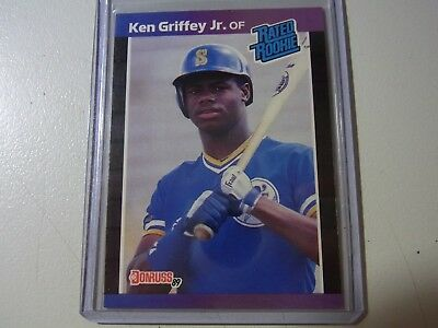 Ken Griffey Jr. Mariners 1989 Donruss #33 Rated Rookie Card RC MINT