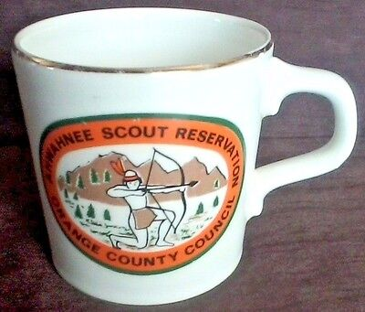 BSA 70's Coffee Mug Ahwahnee Scout Reservation Orange County Council(California)