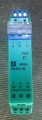Pepperl + Fuchs Solenoid Driver KFD2-SD-Ex1.48 ex din rail mountable