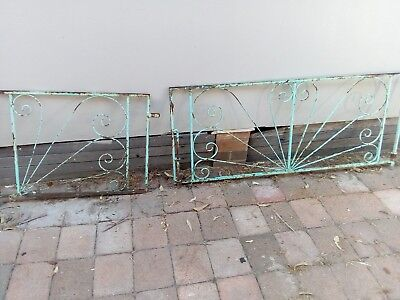 vintage retro drive way gates wrought iron driveway