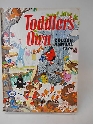 Toddler's Own Colour Annual 1974