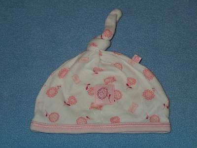 Mothercare Cute Little Girls Flower Print Hat, Size 0-3 Months