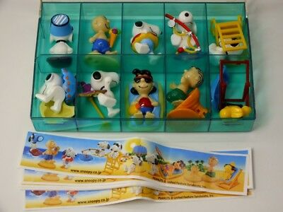 !!! HPF SATZ EU Peanuts am Strand Japan 2002 + alle BPZ TOP !!!