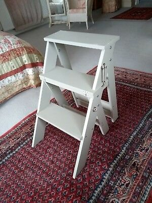 Folding Library Step Chair