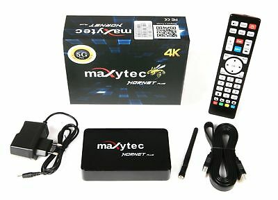 Maxytec Hornet PLUS IPTV Receiver PVR 3D Android Streaming Box