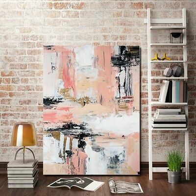 Abstract Modern Art Graffiti Oil Canvas Print Painting Wall Picture Home Decor
