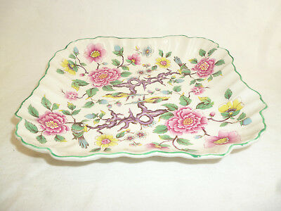OLD FOLEY JAMES KENT CHINESE ROSE 20cm SERVING DISH - excellent cond.