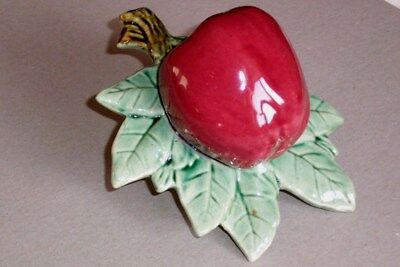 Apple And Leaves China Wall Pocket