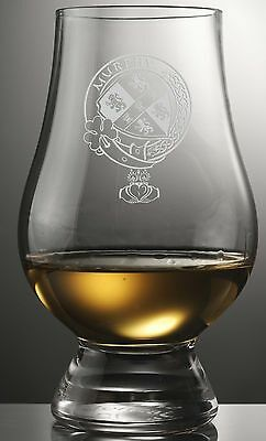 Clan Murphy Scotch Malt Whisky Glencairn Tasting Glass