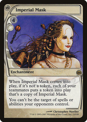 MTG Imperial Mask [English, Future Sight, Free P&P]