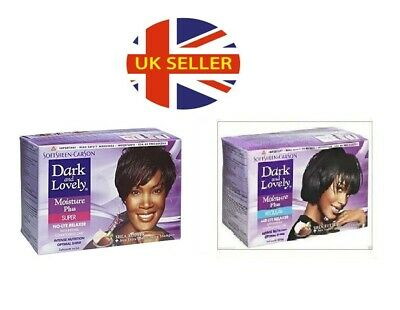 Dark and Lovely No-Lye Hair Relaxer Kit (Super/ Regular) X1 X2 X4 X6 X12