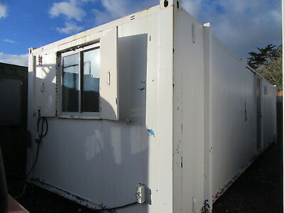 32ft x 10ft ANTIVANDAL OFFICE CANTEEN WITH 2+1 TOILET SITE OFFICE £4000 + VAT
