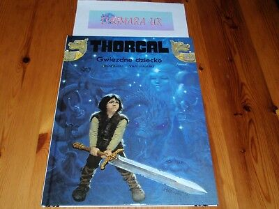 *New Polish Book* Thorgal, tom 7 - Gwiezdne Dziecko *komiks*