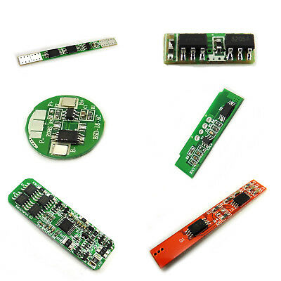 Battery Protection Boards 1S 2S 3S 4S Cells 18650 Ion Lithium Polymer BMS PCB