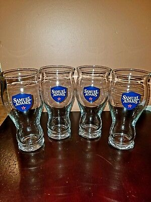 Set of 4 Samuel Adams Perfect Pint Sensory Glasses 16 Oz. For the Love of Beer