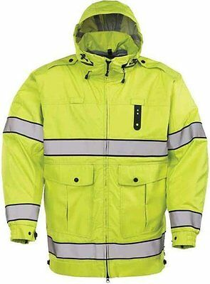 $150 Off SRP NWT XL PROPPER Defender Halo Hi-Vis Rain Jacket Drop Tail XL SALE!!