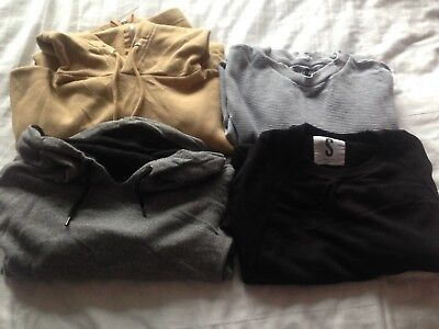 Mens Hoodies/Jumpers x4 (Small)