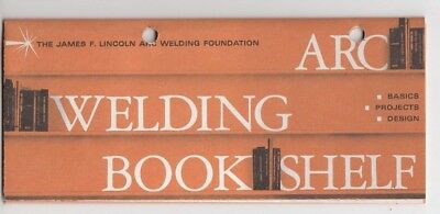 James Lincoln  Welding Bookshelf Vintage Brochure  Nice ! / d9