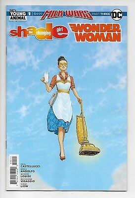 Shade the Changing Girl Wonder Woman Special #1 - Milk Wars Pt 3 (DC, 2018) - NM