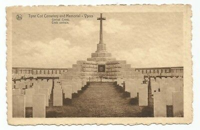 Ieper Tyne Cot Cemetery and Memorial Central Cross Ypres Guerre