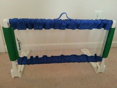 Safety 1st Portable Bed Rail Blue Toddler/Child Safety Bedroom Bedrail