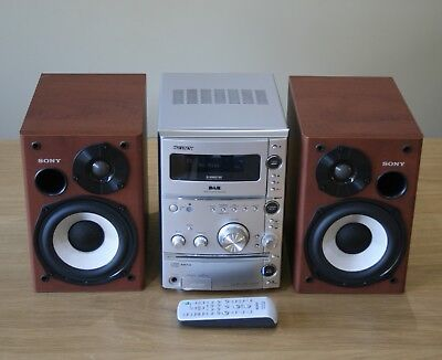Sony CMT-CPZ1DAB Micro Hi-Fi System With DAB Tuner, Boxed, RRP £250