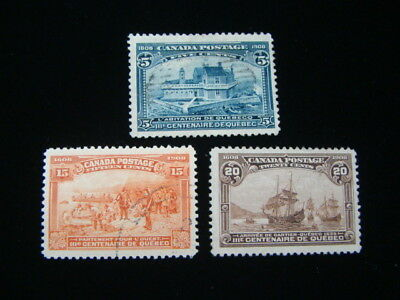 Canada Scott #99, 102-103 Used Issues $455.00 SCV Very Nice!!