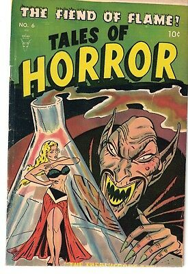 TALES OF HORROR # 6 Rare Canadian Version VG+ GGA Cover with Monster