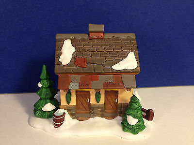 Dept 56 Dickens Village TENDING THE NEW CALVES Single Barn Replacement Piece