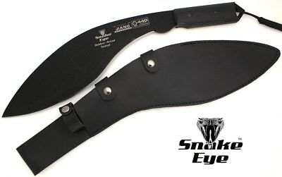 Snake Eye Tactical Full Tang Heavy Duty Handmade G-10 Handle Fixed Blade Kukri