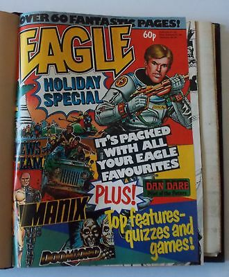 Eagle Comics - Bound Volume 10 - MAR 17 1984 to JUN 2 1984 - FREE GIFTS!!
