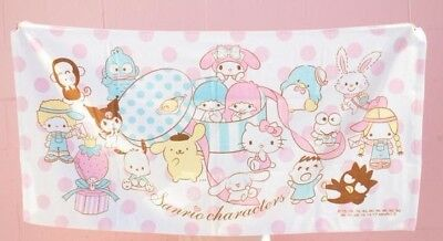 Sanrio Hello Kitty Characters Bathroom Cotton Bath Towel: Surprise Mix