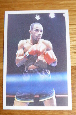 LlOYD HONEYGHAN  BOXING QUESTION OF SPORT CARD 1987  MINT