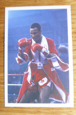 Larry Holmes  Boxing Question Of Sport Card 1987  Mint