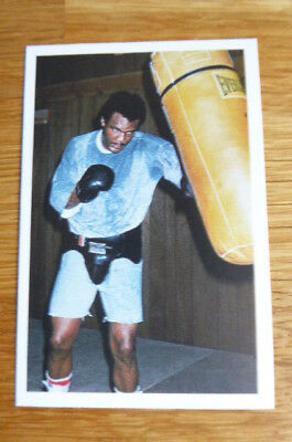 George Foreman Boxing Question Of Sport Card 1987  Mint