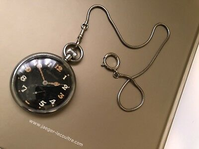 jaeger lecoultre ww ll british military issue pocket watch 🇨🇭