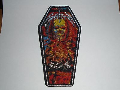 Satan Trail By Fire Woven Patch