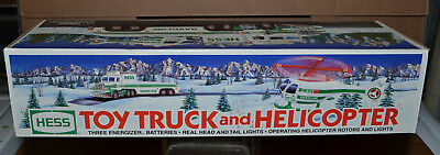 1995 TOY TRUCK and HELICOPTER NEW IN BOX