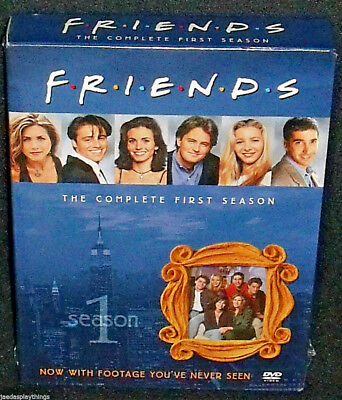 Friends The Complete First Season 1 DVD 2010 4-Disc Set NEW Sealed