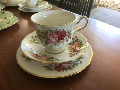 Queen Anne Trio Pattern No 8546 English Bone China